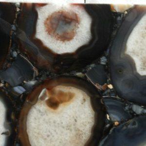 Black Round Agate 5mm