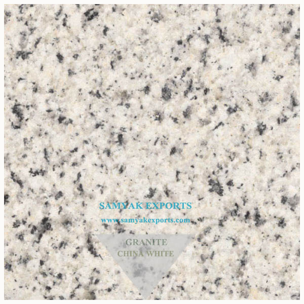 China White Granite Cobbles, Kitchen Countertop, Vanity Top, Bathroom Surfaces Manufacturer Exporter In India