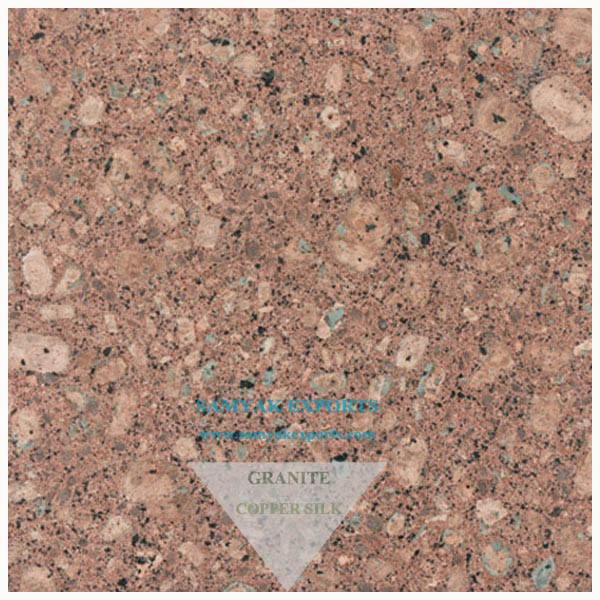Copper Silk Granite Tile Slab Manufacturer, Supplier, Exporter In India