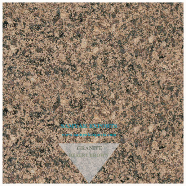 Desert Brown Granite Tile Slab, Countertop, Vanity Top, Work Top, Monuments, Sculpture, Manufacturer in India