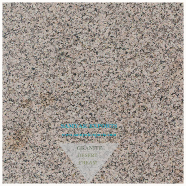 Desert Cream Granite Tile Slab, Flooring For Interior Supplier From India