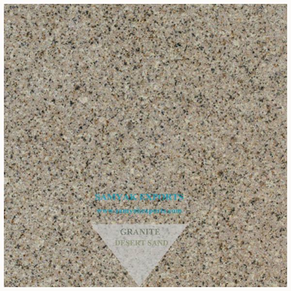 Desert Sand Granite Tile Slab Kitchen Countertop, Worktop, Statue, Fire Place, Monuments Manufacturer, Supplier, Exporter In India