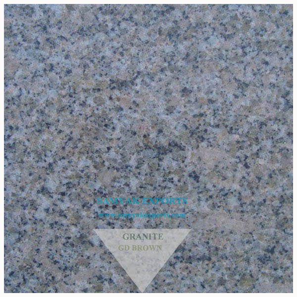 GD Brown Granite Tile Slab, Vanity Top, Basin Top, Bar Top, Garden Ornaments,Countertop Supplier, Manufacturer, Exporter In India