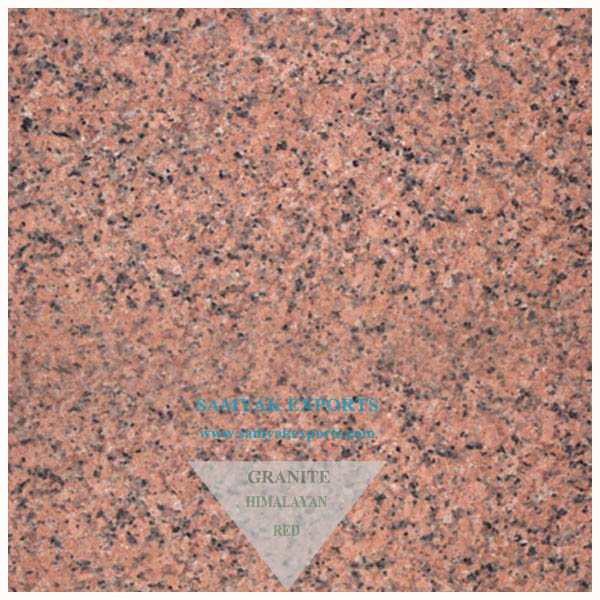 Himalayan Red Granite Tile Slab Largest Manufacturer, Exporter in India
