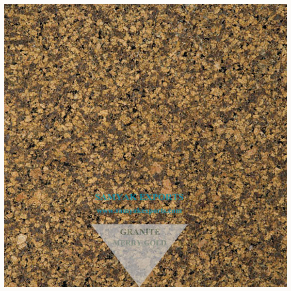 Merry Gold Granite Tile Slab, Countertop Trader in India