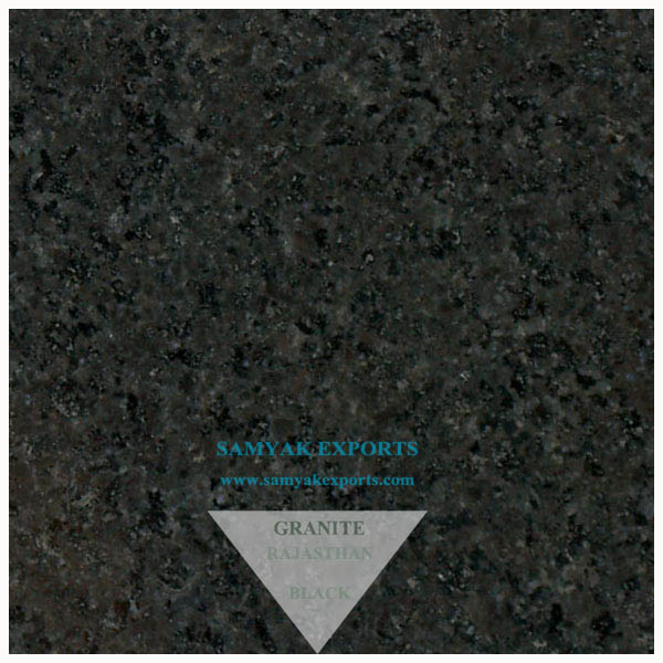 Rajasthan Black Granite Tile, Slab, Bathroom Tile Largest Manufacturer in India