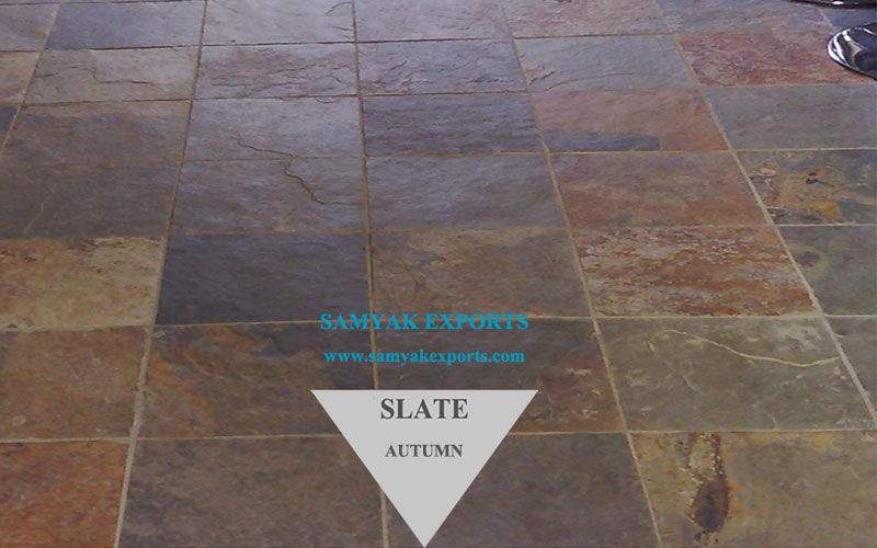 Autumn Slate Tile Slab Leading Manufacturer, Supplier In India