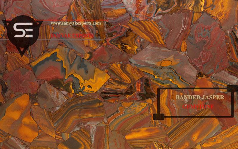 Jasper Gemstone Tile, Slab, Countertop, Manufacturer and Exporter In India