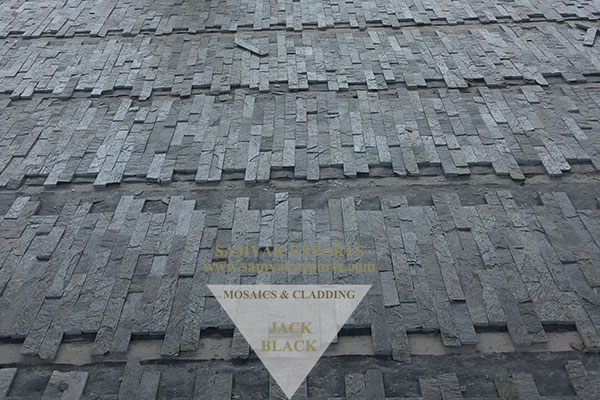 Black Stone Wall Cladding Panel Leading Manufacturer in India