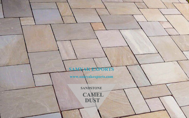 Camel Dust Sandstone Tile Slab Top Manufacturer, Exporter, Supplier In India