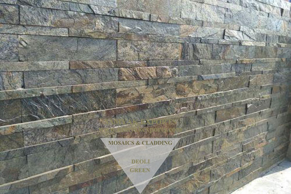 Deoli Green Stone Wall Cladding Panel Manufacturer, Supplier In India