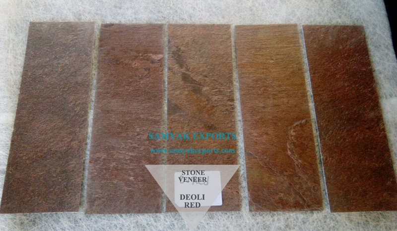 Deoli Red Stone Veneer Manufacturer, Exporter, Supplier In India