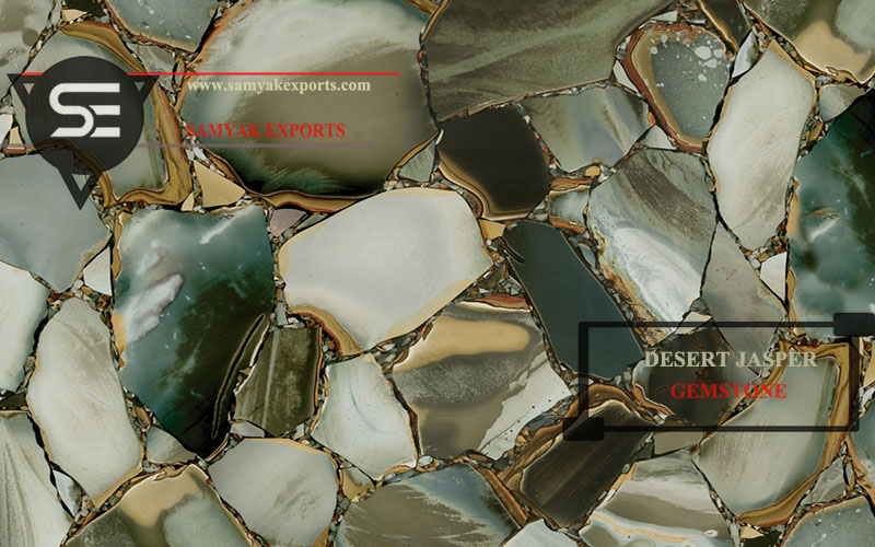 Desert Jasper Gemstone Tile Slab Manufacturer And Supplier In India