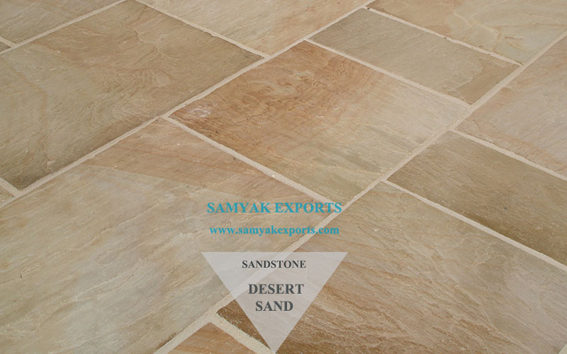 Desert Sand Sandstone Tile Slab Best Manufacturing Factory In India