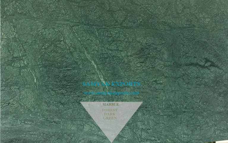 Forest Dark Green Marble Tile, Slab, Pool Coping, Flooring, Kitchen Countertop, Vanity top Manufacturer in India