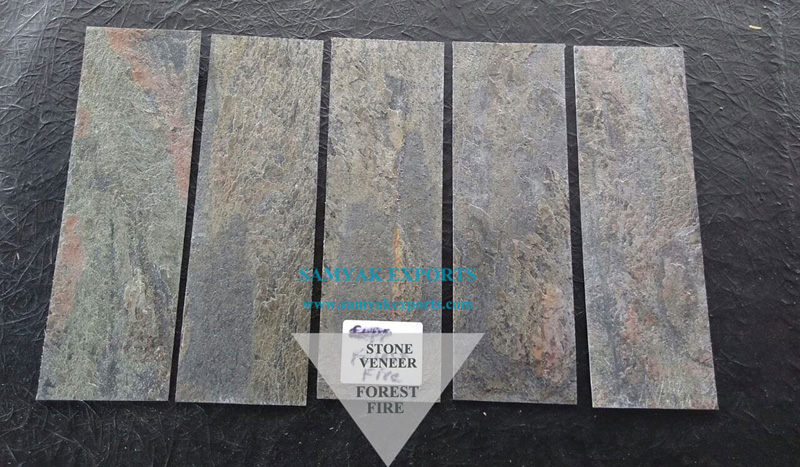 Forest Fire Stone Veneer Manufacturer, Exporter, Supplier In India