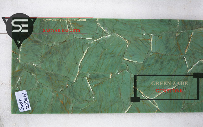 Green Agate Gemstone Tile Slab Manufacturer And Exporter