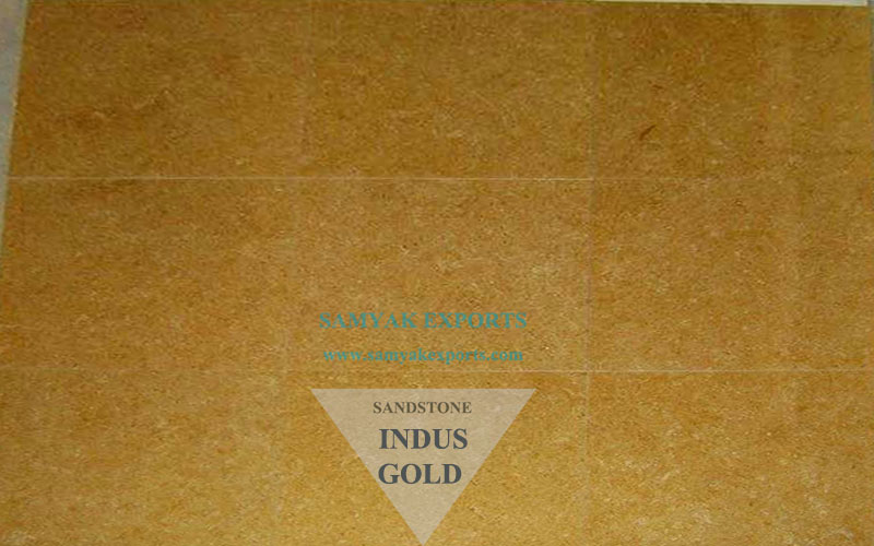 Indus Gold Sandstone Tile Slab Largest Producer And Manufacturer in India