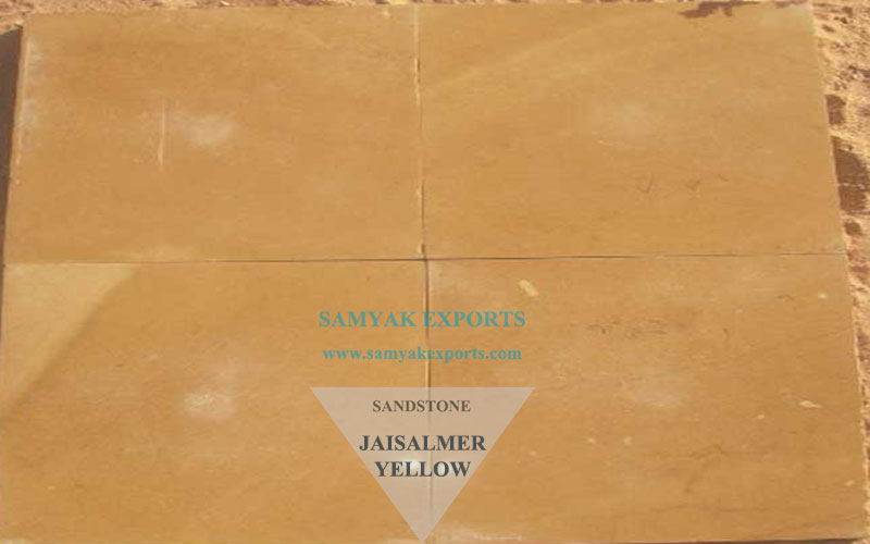Jaisalmer Yellow Sandstone Tile Slab Supplier, Exporter In India