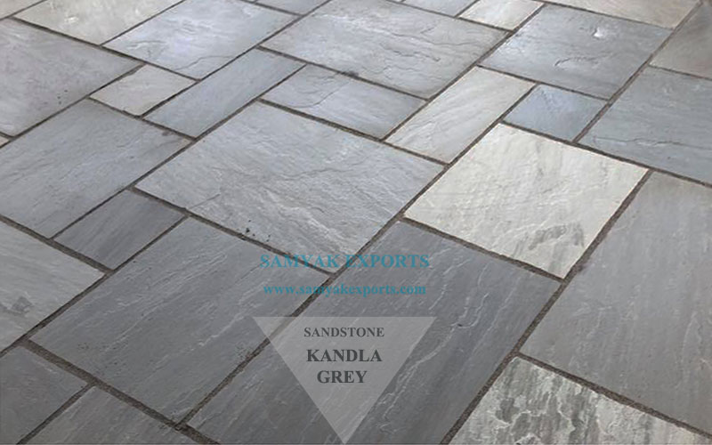 Kandla Grey Sandstone Tile Slab Largest Manufacturer, Exporter in India