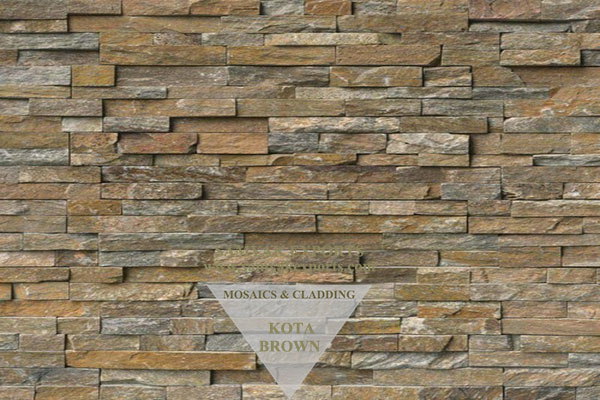 Kota Brown Stone Wall Cladding Panel Best Manufacturer in India