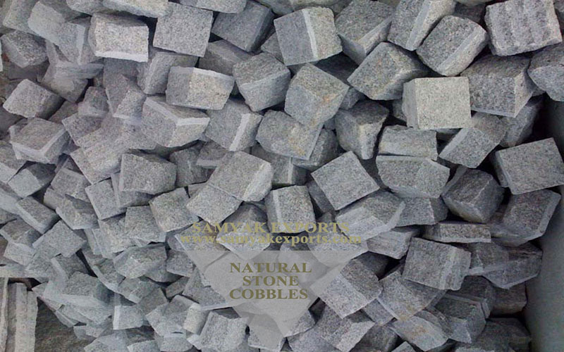 Kuppam Grey Granite Stone Cobbles Top Manufacturer in India