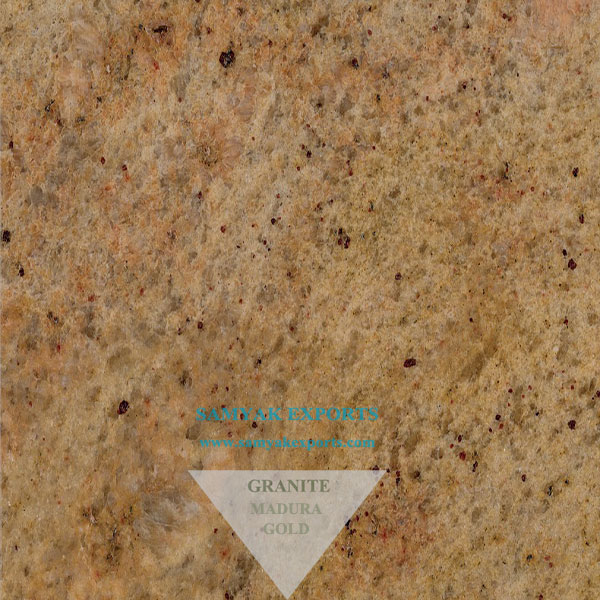 Madura Gold Granite Tile Slab Countertop Manufacturer