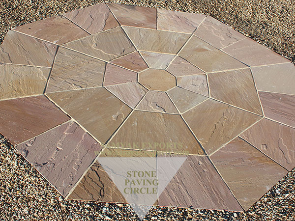 Modak Sandstone Paving Circle Kit, Sandstone Paving Circle Manufacturer in India
