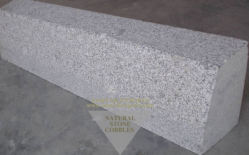 P White Granite Kerbstones, Landscaping Stone, Pathway Stone Manufacturer And supplier in India