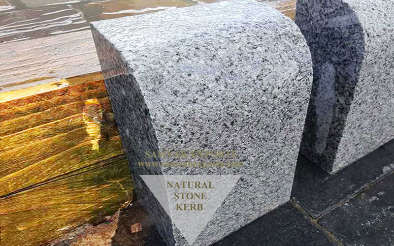 Silver Star Granite Edging Kerb Stones, Paving, Pavers Stone Manufacturer, Supplier In India