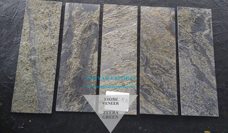 Zeera Green Stone Veneer Manufacturer, Exporter, Supplier In India