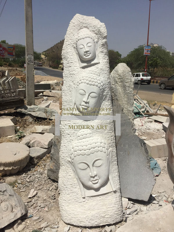 White Stone Garden Modern Art, Garden Ornaments Manufacturer, Exporter, Supplier, In India, In Udaipur, In Rajasthan
